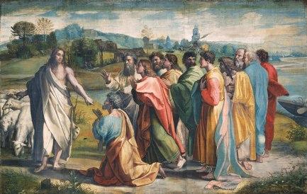 Raphael, 1515-1516 Victoria and Albert Museum, London, Great Britain