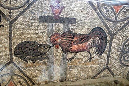 Photo taken by Wolfgang Sauber 4th century Mosaic Basilica di Aquileia (Aquileia, Italy)