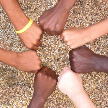 Hands, all together Avondale Pattillo United Methodist Church, Decatur, GA, USA