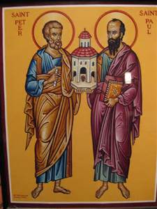 Peter and Paul Icon