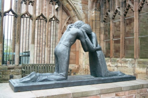 Statue of Reconciliation - Coventry Cathedral